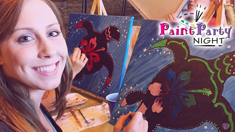1 Two-Hour Painting Party Admission (E-Ticket)