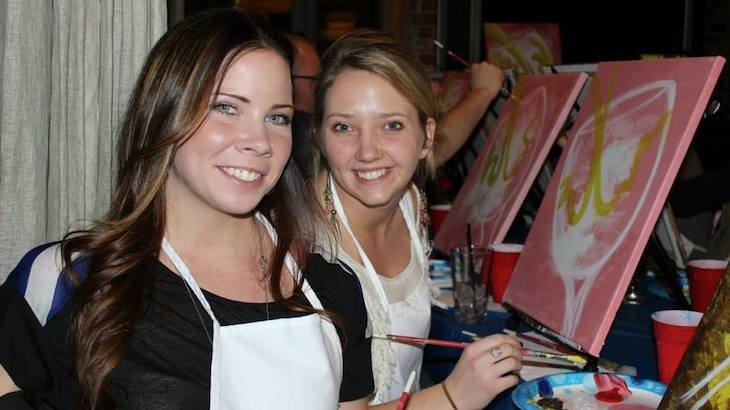 2-Hour Guided Painting Admission for One to Paint Social Art
