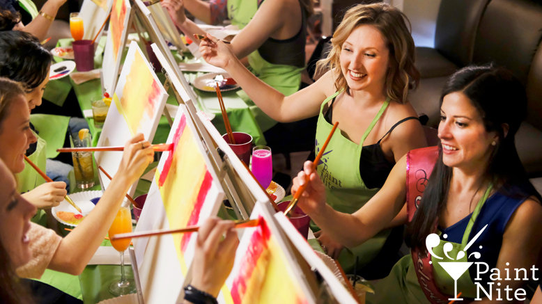 1 Admission to Paint Nite