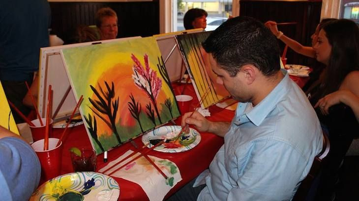 One Entry to Painting Under The Influence