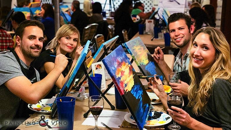 3-Hour Painting Class Admission