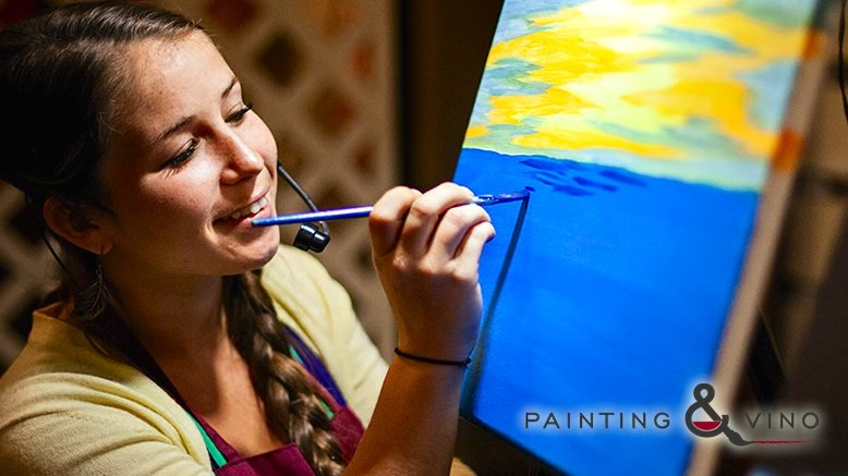 Painting and vino phoenix discount tickets deal rush49 for Rush49 paint nite