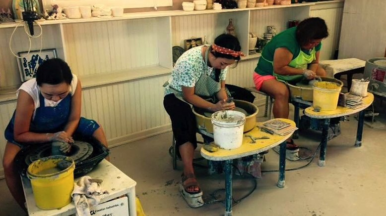 90-Minute BYOB Pottery Class for 1