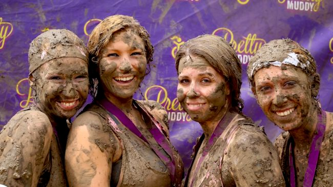 One Entry to Pretty Muddy Women's 5K Obstacle Course + Mud Run