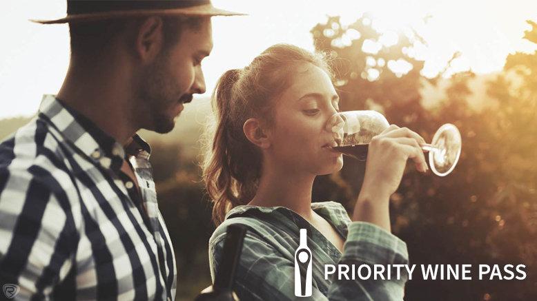 1 Priority Wine Pass