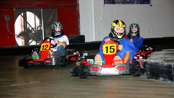 2 Go Kart Races Each For Two People