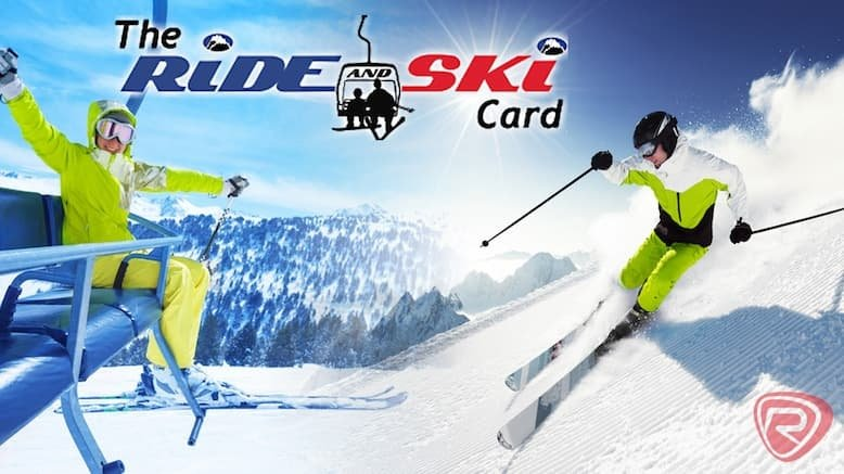 Ride & Ski Card, 2016 - 2017 Season