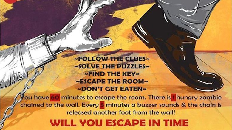 One Ticket to Trapped in A Room With A Zombie II: Still Hungry
