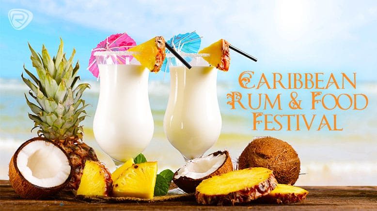 1 GA Ticket to Caribbean Rum & Food Fest