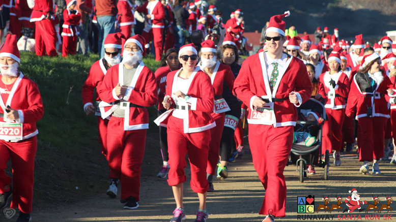 1 Runaway Santa 5K Entry