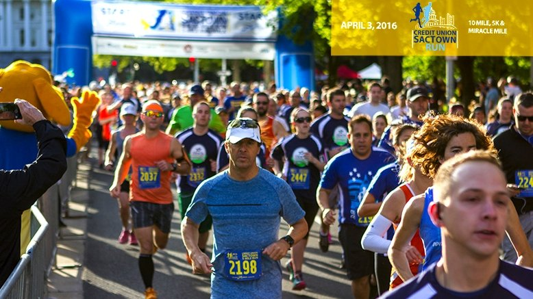 5K SACTOWN Run Entry