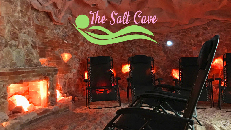 One 45-Minute Salt Cave Session