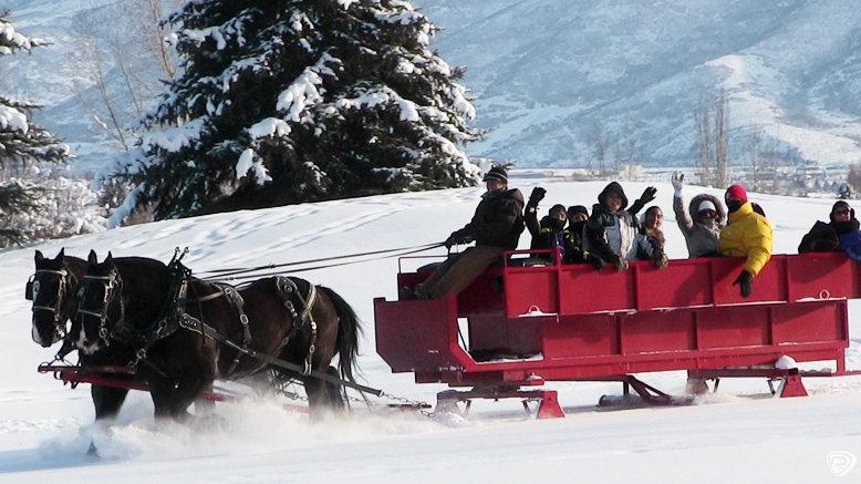 Santa Sleigh Ride for One