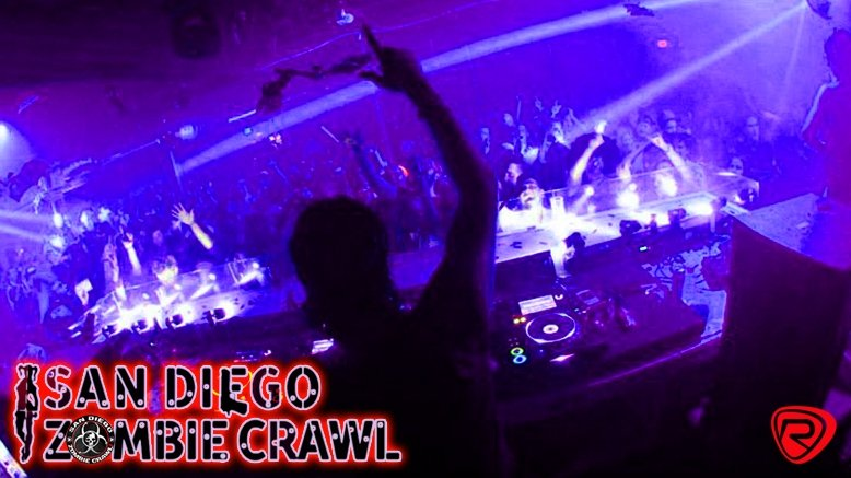1 Ticket San Diego Zombie Crawl - Fri, Oct. 28th