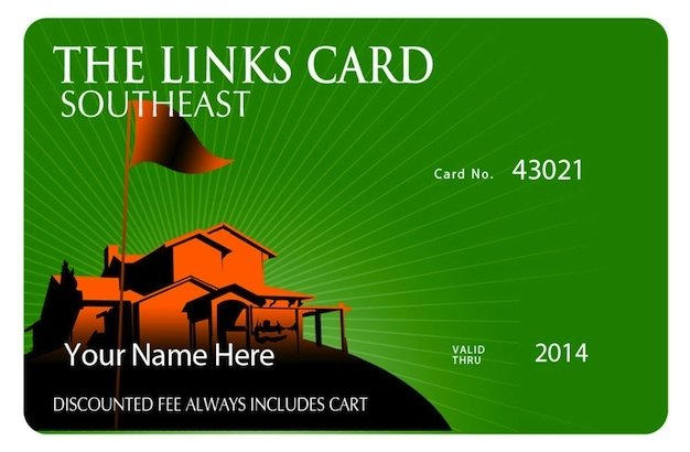 A 2014 Membership Card to The Top Golf Discount Program in The Southeast for over 20 Years