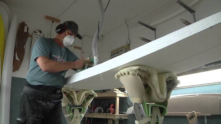 Four-Hour Group Surfboard Shaping Class