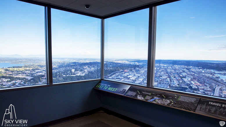 1 Adult Entry to Sky View Observatory (14+)