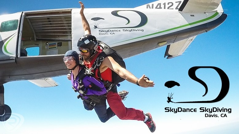 9,000 ft. Tandem Skydive