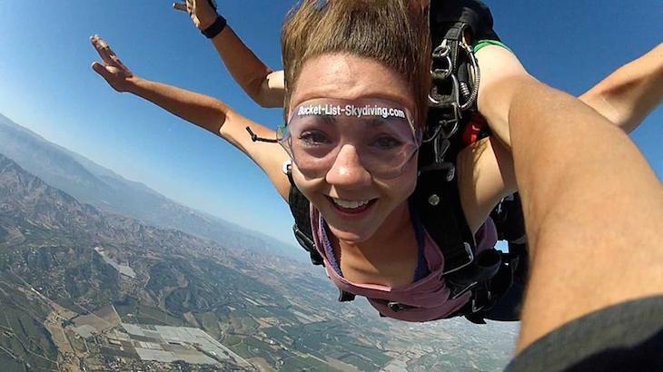 Tandem Skydiving Jump