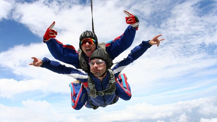 Tandem Skydive - Up To 9,000 feet