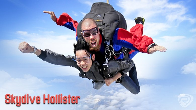 Tandem Skydive From 8,000 ft for 1 (Valid Anytime)