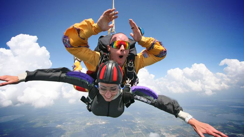 Tandem Skydiving Jump for 1