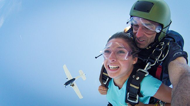 RUSHPASS for One Tandem SkyDive