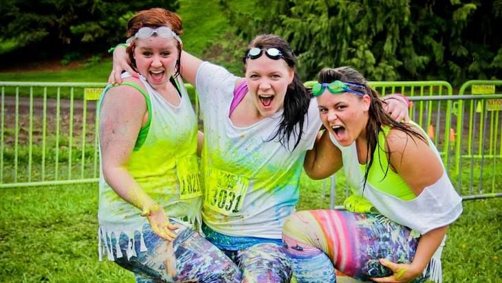 One Entry to the Slime Run 5K, Including One Barrel of Slime and Headband