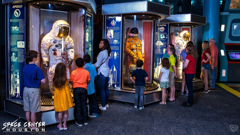 1 Child or Adult Space Center Houston Admission