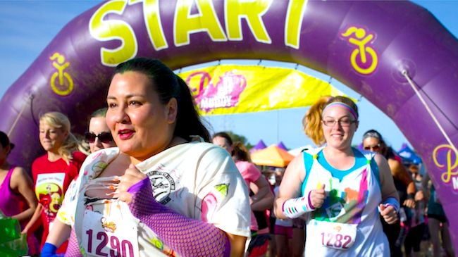 One Entry to Pretty Muddy Womens 5K Obstacle Course and Mud Run