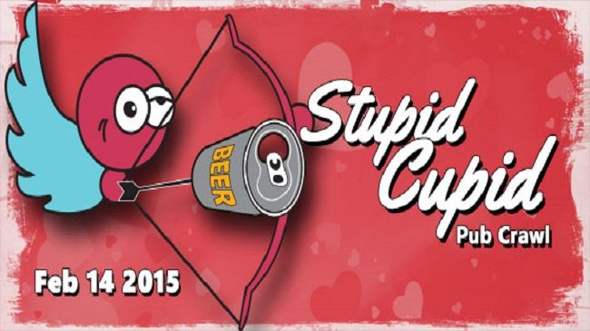 One Entry to Stupid Cupid Pub Crawl by Keep Crawling