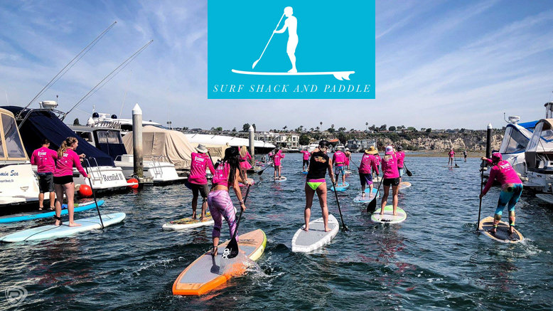 2-Hour SUP Paddle Board Rental for 1