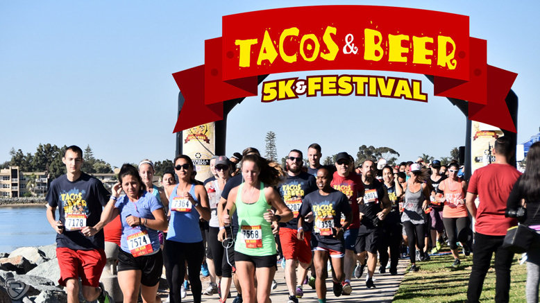Entry for 1 to Tacos N Beer 5K