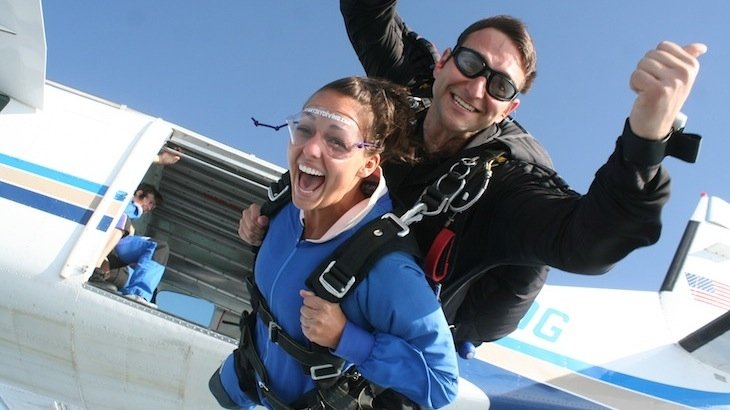 A Tandem Jump with a USPA-Certified Instructor