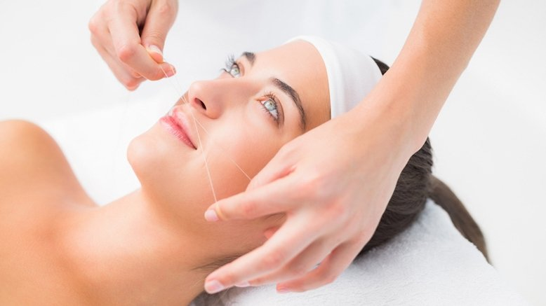 Eyebrow and Upper Lip Threading Service