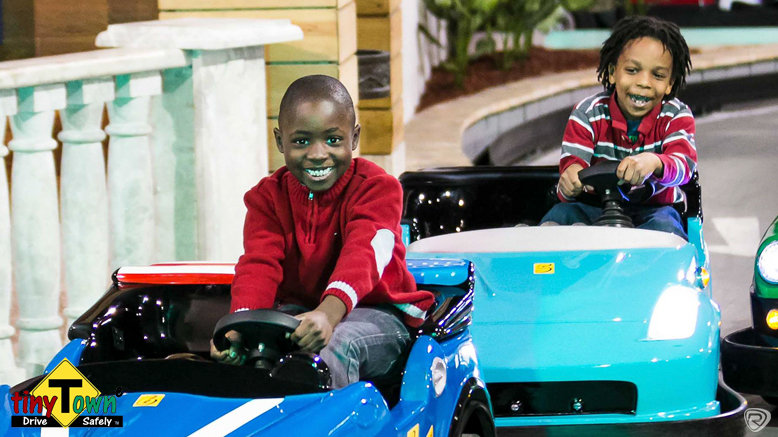 Four Rounds of Kids' Driving Ages 9 and Under