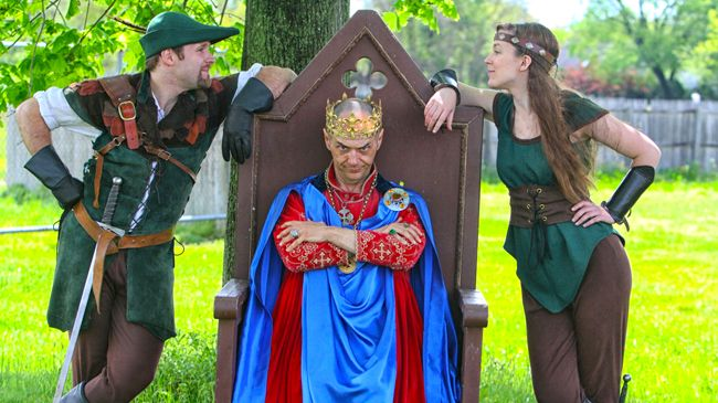 One Adult Ticket to Robin Hood Springtime Festival