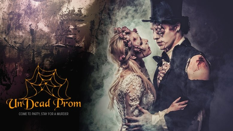 1 Murder Mystery Undead Prom Participant Ticket
