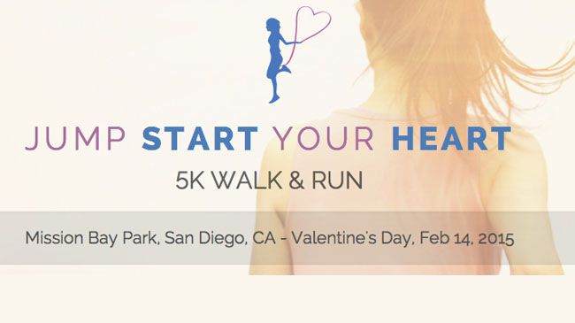 One entry to Jump Start Your Heart 5K