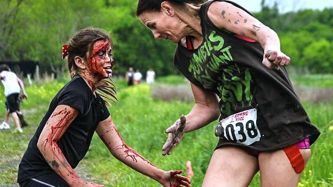 One Entry For 5K Zombie Race registration