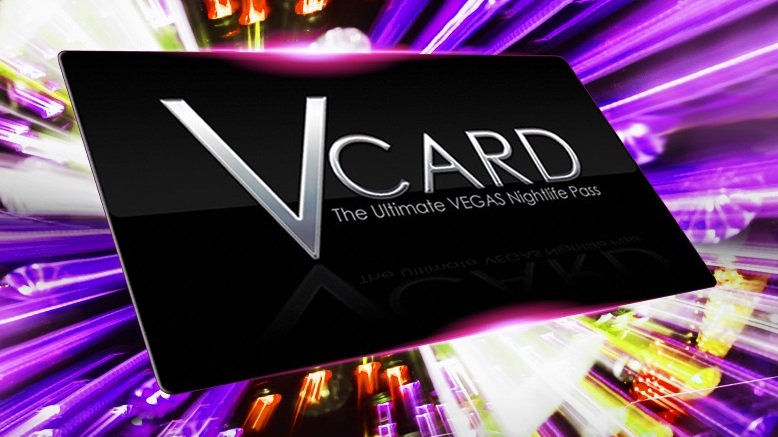 1 V-Card Club Pass