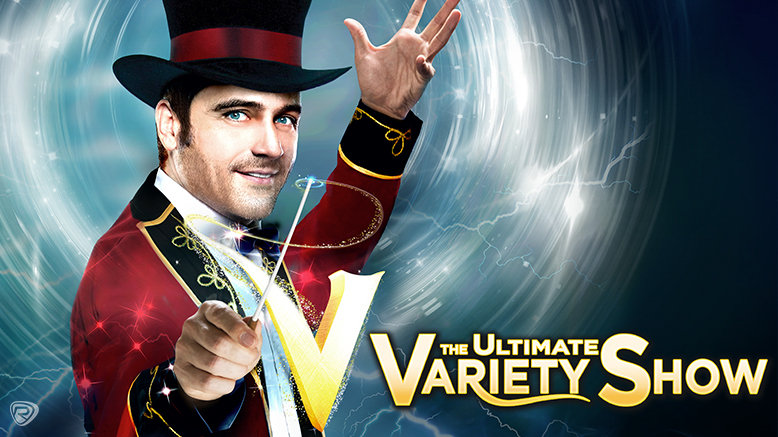 1 Adult GA  Reserved Ticket to V - The Ultimate Variety Show