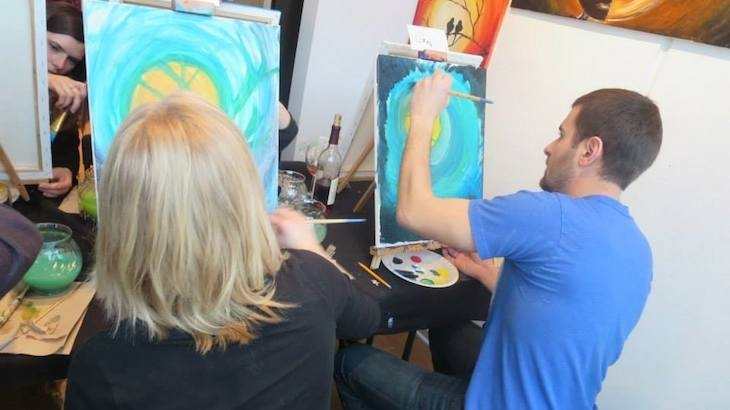 Vip paints chicago discount tickets deal rush49 for Rush49 paint nite
