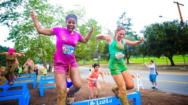 LoziLu Women's Mud Run
