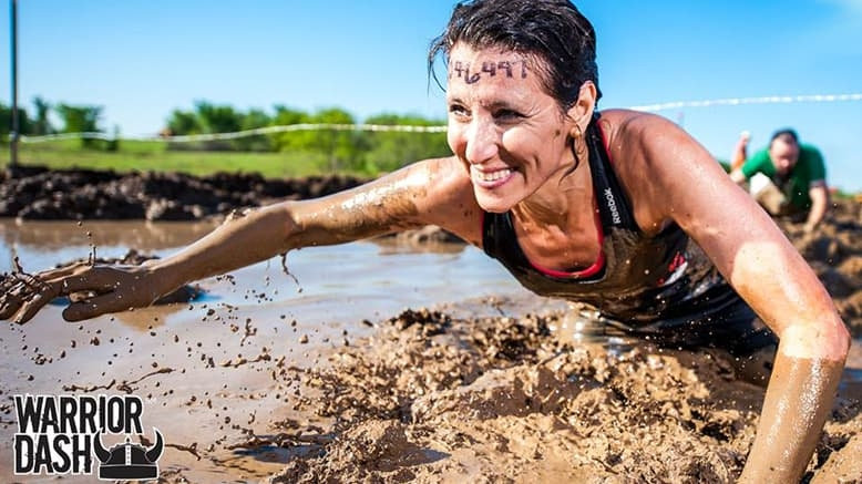 1 Entry to Warrior Dash - Standard Wave
