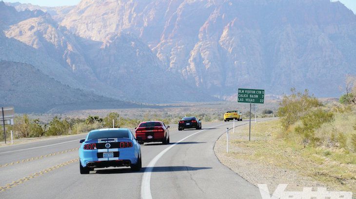 3-Car Red Rock Driving Experience & Passenger Ride-Along