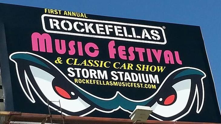 Sunday Entry to Rockefellas Music Festival