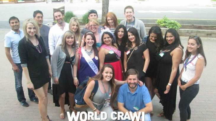 Ticket with VIP Club Access, Appetizers, and Drinks with World Crawl Whistler