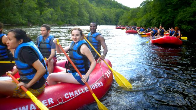 Lehigh River Whitewater Rafting Trip