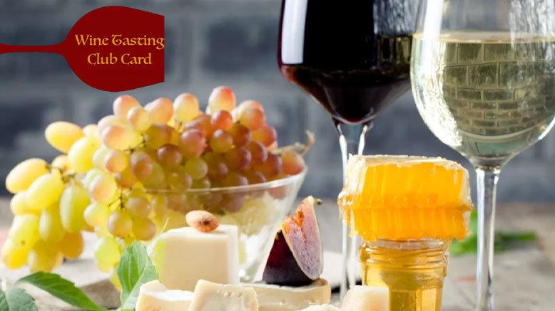 1 Wine Tasting VIP Card